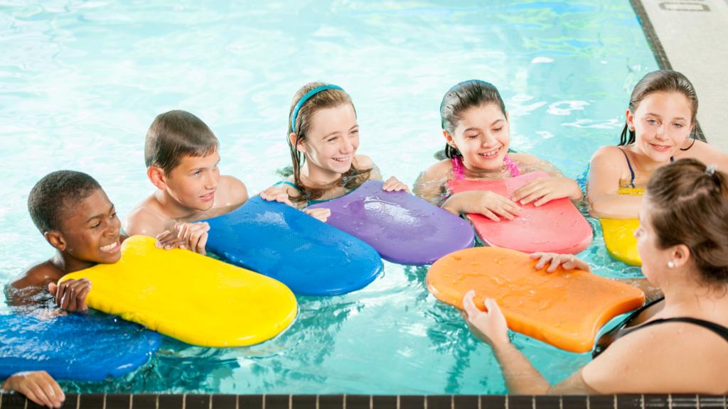 Deska do pływania dla dziecka